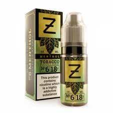 Menthol Tobacco Regular 10ml by Zeus Juice