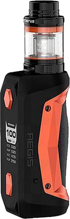 OrangeAlloy, Leather & Silicone Aegis Solo Vape Device by GeekVape