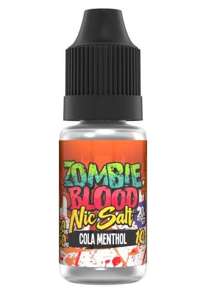 Cola Menthol Nicotine Salt by Zombie Blood