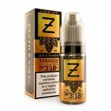Bia & Hades Tobacco Regular 10ml by Zeus Juice