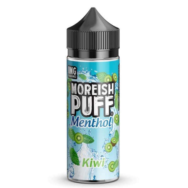 Kiwi Menthol Shortfill by Moreish Puff