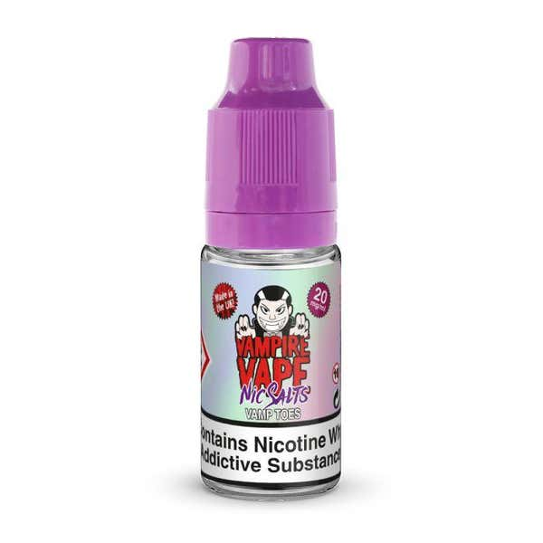 Vamp Toes Nicotine Salt by Vampire Vape
