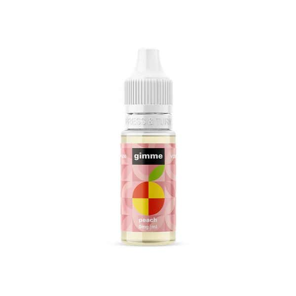 Peach Regular 10ml by Gimme