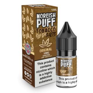 Moreish Puff Original Tobacco Nicotine Salt