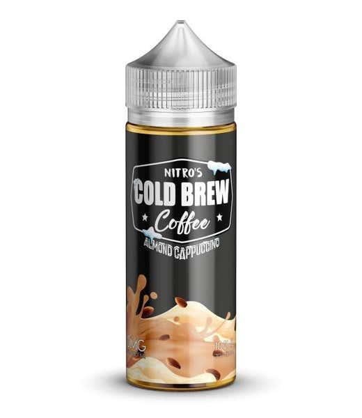 Almond Milk Cappuccino Shortfill by Nitros Cold Brew