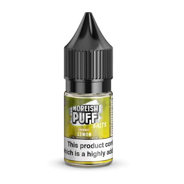 Lemon Sherbet Nicotine Salt by Moreish Puff