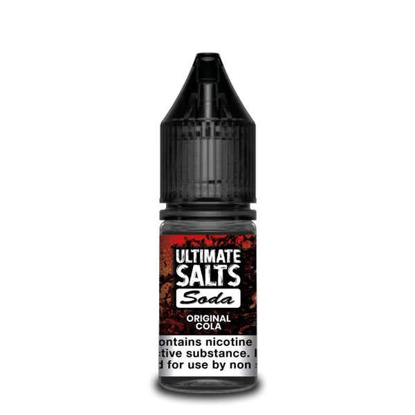 Soda Original Cola Nicotine Salt by Ultimate Puff