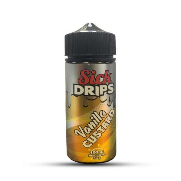 Vanilla Custard Shortfill by Sick Drips