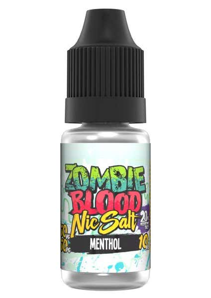 Menthol Nicotine Salt by Zombie Blood