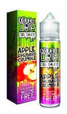 Apple Rhubarb Crumble Shortfill by Double Drip