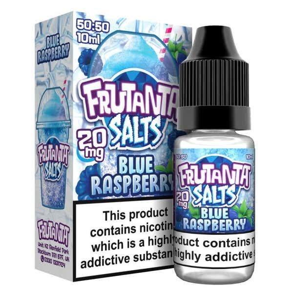 Blue Raspberry Nicotine Salt by Frutanta Frozen