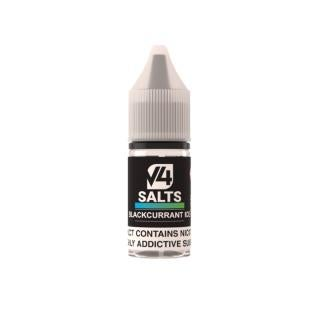V4POUR Blackcurrant Ice Nicotine Salt