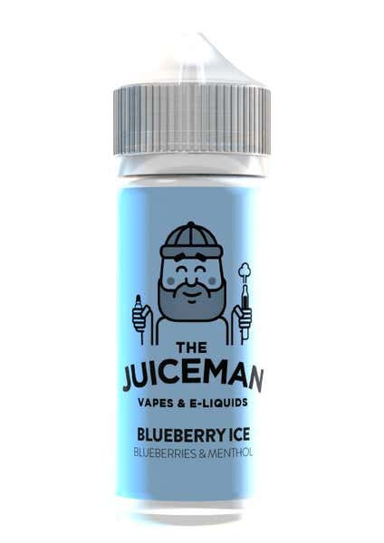 Blueberry Ice Shortfill by The Juiceman