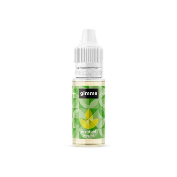 Menthol Regular 10ml by Gimme