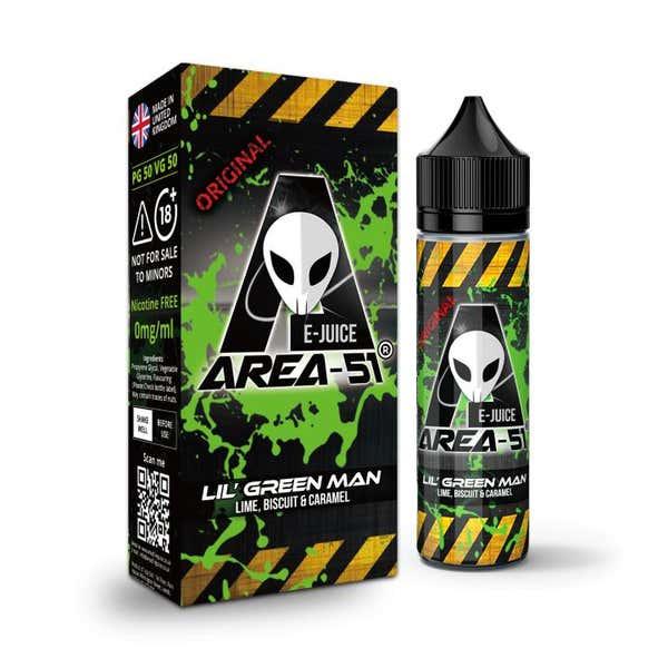 Lil Green Man Shortfill by Area 51