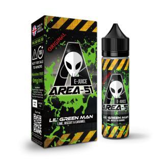 Area 51 Lil Green Man Shortfill