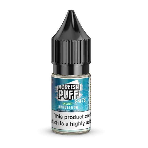 Bubblegum Lollies Nicotine Salt by Moreish Puff