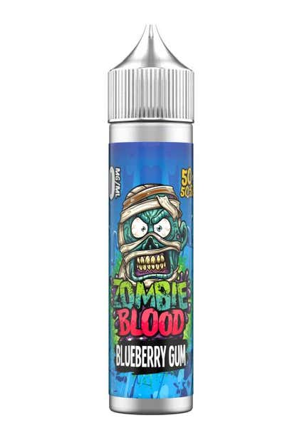 Blueberry Gum Shortfill by Zombie Blood