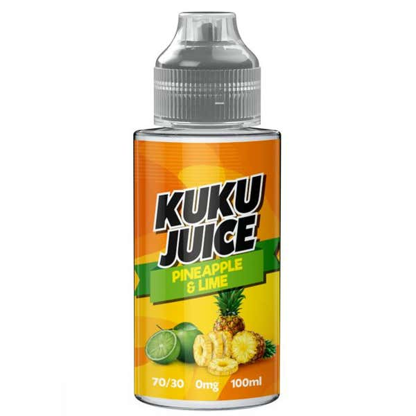 Pineapple Lime Shortfill by Kuku