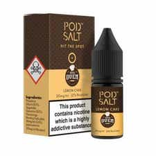 Lemon Cake Nicotine Salt by Pod Salt