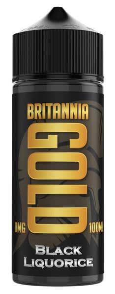 Black Liquorice Shortfill by Britannia Gold
