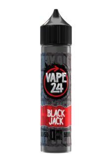 Vape 24 Black Jack Shortfill
