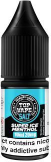 Top Vape Super Ice Menthol Nicotine Salt