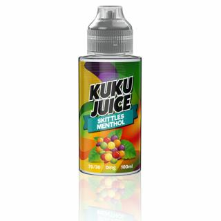 Kuku Skittles Menthol Shortfill