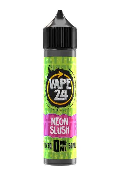 Fizzy Neon Slush Shortfill by Vape 24