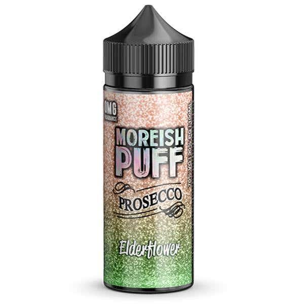 Elderflower Prosecco Shortfill by Moreish Puff
