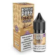 Vanilla Tobacco Regular 10ml by Moreish Puff