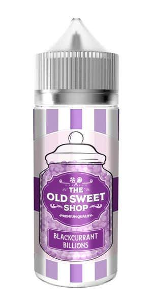 Blackcurrant Billions Shortfill by The Old Sweet Shop