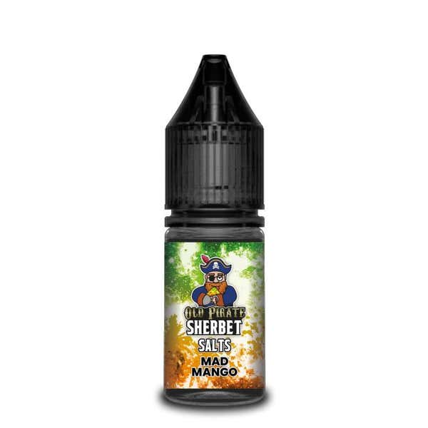 Sherbet Mad Mango Nicotine Salt by Old Pirate
