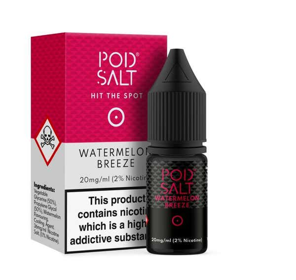 Watermelon Breeze Nicotine Salt by Pod Salt