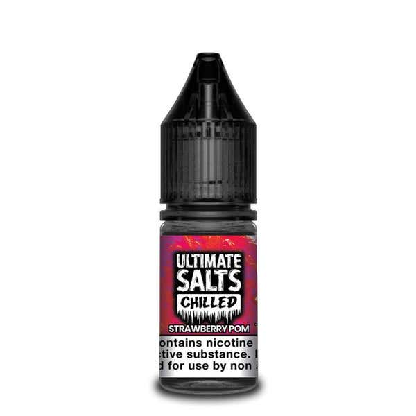 Chilled Strawberry Pom Nicotine Salt by Ultimate Puff