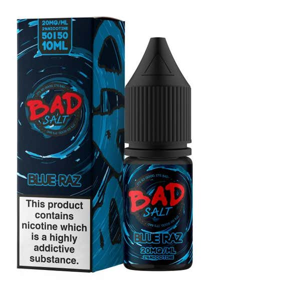 Blue Raz Nicotine Salt by BAD Juice