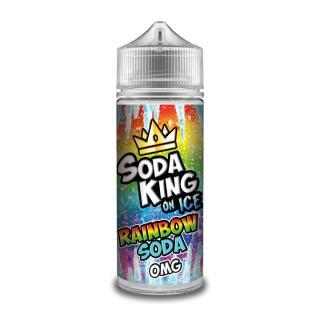 Soda King Rainbow Soda On Ice Shortfill
