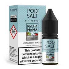 Strawberry Kiwi Ice Nicotine Salt by Pod Salt
