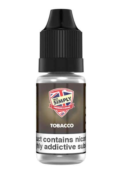 Tobacco Regular 10ml by Vape Simply
