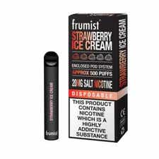 Strawberry Ice Cream Disposable by Frumist