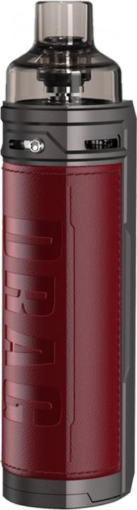 MarsalaAlloy & Leather Drag X Vape Device by VooPoo