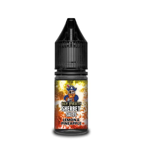 Sherbet Lemon & Pineapple Nicotine Salt by Old Pirate