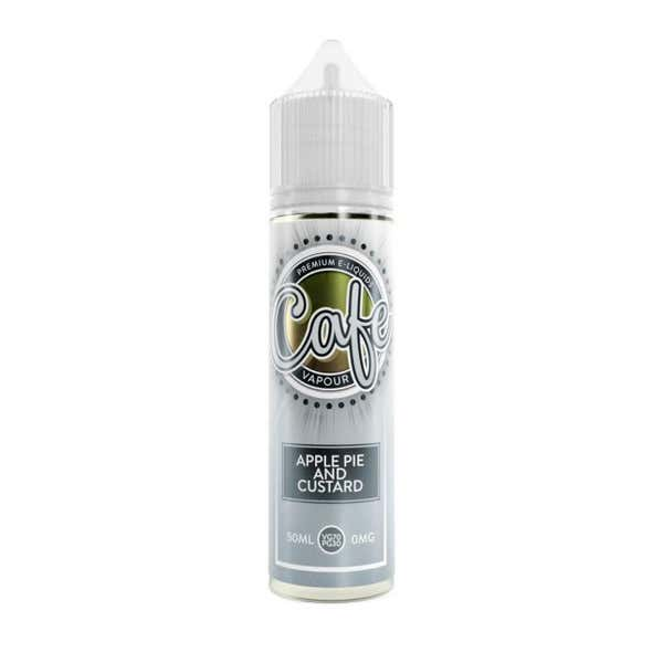 Apple Pie And Custard Shortfill by Cafe Vapours