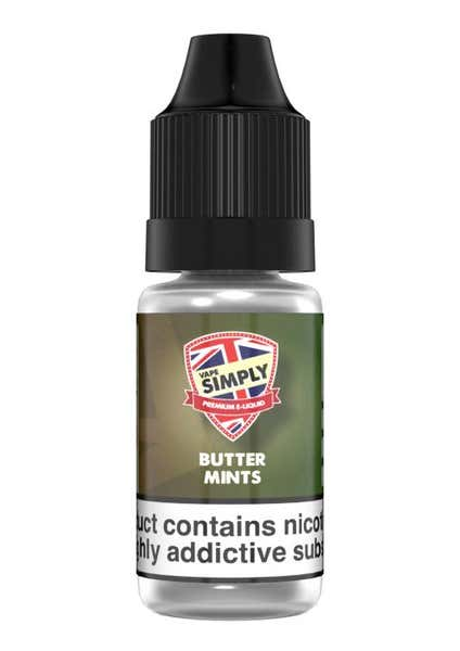 Butter Mints Regular 10ml by Vape Simply