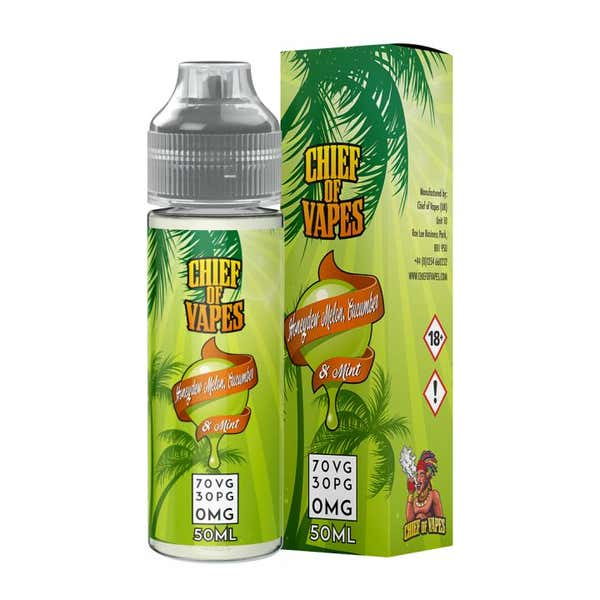 Honeydew Melon, Cucumber & Mint Shortfill by Chief Of Vapes