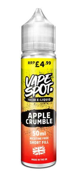 Apple Crumble Shortfill by Vape Spot