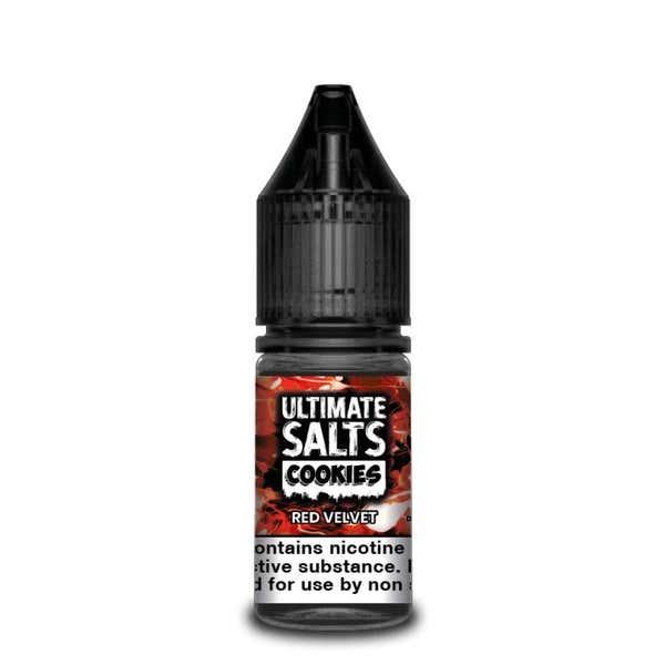 Cookies Red Velvet Nicotine Salt by Ultimate Puff