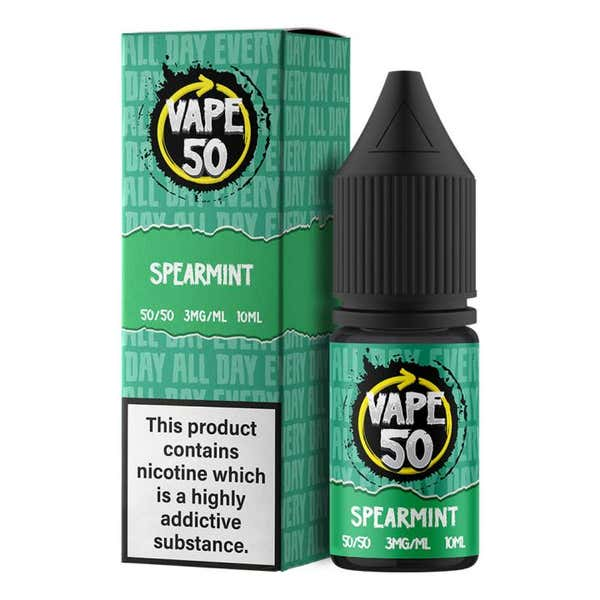 Spearmint Regular 10ml by Vape 50