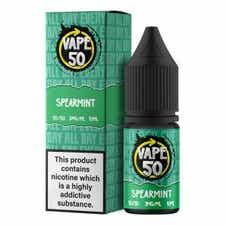 Spearmint Regular 10ml by Vape 50