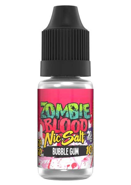 Bubblegum Nicotine Salt by Zombie Blood